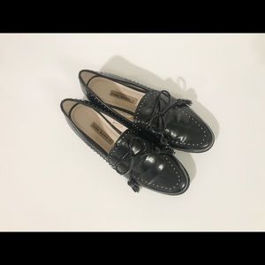 Zara Basic Rubber Loafer Shoes